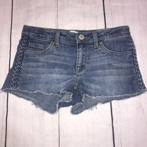 Levi's Shorty Shorts Braided 12R (Girl)